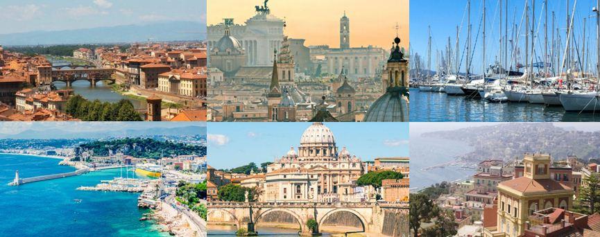 Ciudades Crucero Mediterráneo Solteros