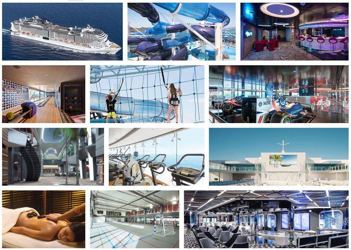 Cruceros para Solteros en Barco MSC Grandiosa