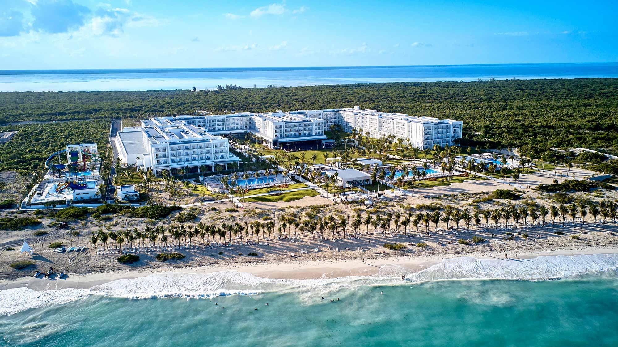 Playa del Hotel Riu Dunamar Costa Mujeres
