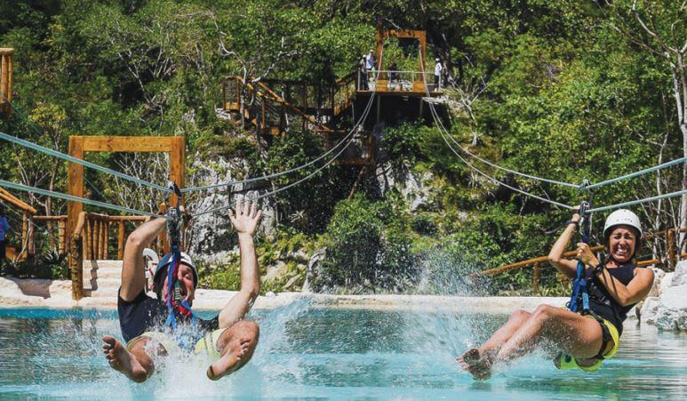 Excursiones opcionales en Punta Cana Scape Park Full Day b2bviajes